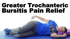 Greater Trochanteric Bursitis, aka Hip Bursitis - Ask Doctor Jo - Bing video Hip Bursitis Exercises, Bursitis Hip, Back Exercises, Hip Stretching Exercises, Hip Strengthening Exercises, It Band Stretches, Flexibility Exercises, Scoliosis Exercises, Knee Stretches