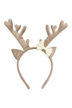 Alice band with reindeer horns | H&M