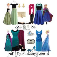 Anna et Elsa (Frozen)