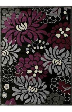 United Weavers Urban Trends Maya Plum Rug Love The Purple Grey Colors