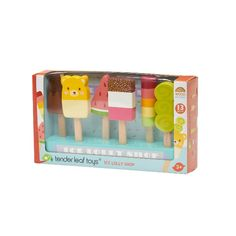 Buy Ice Lolly Shop Play Set from our gift range at English Heritage. Wooden Display Stand, Cold Ice, Tea Tray, Non Toxic Paint, Buy Toys, English Heritage, Sweet Messages, Bank Holiday Weekend, Play Food