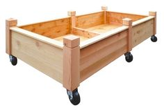 Movable Raised Bed Garden Box