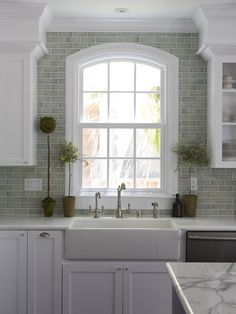 Glass Tile Kitchen Design, Pictures, Remodel, Decor and Ideas - page 4  LOVE LOVE