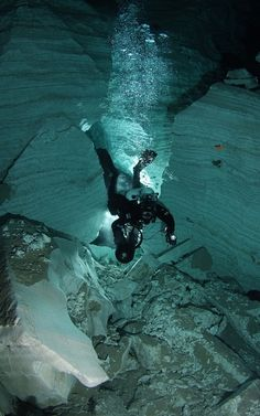 Cave diving in the Urals, Orda, Perm region