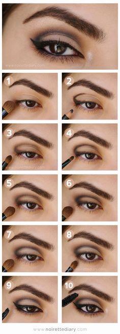 10 Tuto makeup pratiques pour se faire des yeux de biche