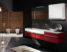 Bathroom: Classic Meets Contemporary Bathroom Design With Small White Bath Tub Plus Cream Curtain Also With Single Wooden Vanity Cabinet Under Rectangular Wooden Framed Mirror from How to Pick Bathroom Cabinet Ideas for Small Bathroom