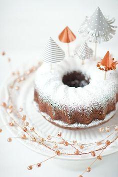 decoracion tarta arboles papel 12 ideas para hacer esta Navidad con los Niños