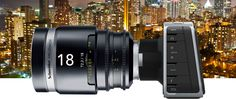 Blacmagic Production Camera 4K with Schneider Cine-Xenar 18mm/T2.2 Lens