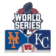 New York Mets vs. Kansas City Royals 2015 World Series Dueling Pin