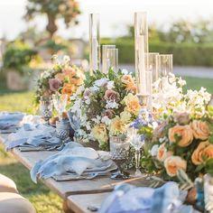 Tablescape | Planning & Design: A Good Affair Wedding & Event Production @agoodaffair Venue: The Resort at Pelican Hill @pelicanhillresort