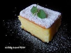 Kuchnia Koloru Blond: Napoleonki bez pieczenia Cheesecake, Pudding, Food, Cheesecakes, Custard Pudding, Essen, Puddings, Meals, Yemek