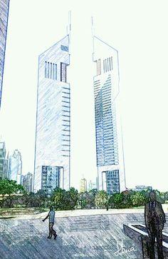 #Emirates Towers, #Dubai #UAE. Visit it. http://www.dubaimylove.com