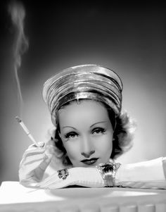 sparklejamesysparkle:  Marlene Dietrich by Ray Jones, 1939.
