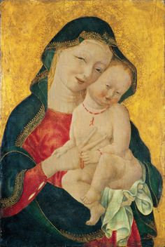 Master of the Winking Eyes: Madonna and Child
