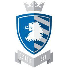 Lions Logo re-imagined as European Football logos.