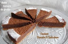 Fondant Chocolat & Spéculoos Milk And Cheese, French Food, Afternoon Snacks, Easy Desserts, Coco, Chocolate Cake, Caramel, Cheesecake, Deserts