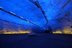 【スライドショー】世界のトンネル探検 - WSJ.com