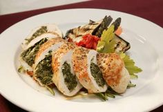 Chicken Florentine Roll Ups The Real Food Academy, chicken roll ups, Domestic: Crispy Baked Chicken Tortilla Roll. Blue Cheese Chicken, Chicken With Olives, Wiener Schnitzel, Real Food Recipes, Cooking Recipes, Healthy Recipes, Delicious Recipes, Chicken Florentine, Chicken Livers