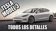 El Tesla Model 3 es una berlina 100% eléctrica fabricada por Tesla Motors. Tras los Tesla Model S y Model X, el fabricante californiano lanzará al mercado