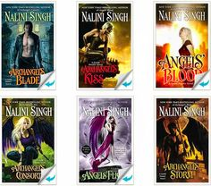 "Nalini Singh ""Guild Hunter"" series"