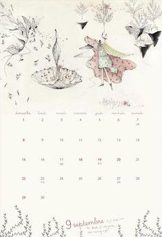 2013 calendar September/Septembre
