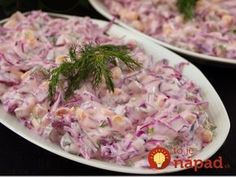 Yoğurtlu Mor Lahana Salatası Purple cabbage salad with mayonnaise with yogurt. Mayonnaise, Salad Recipes, Snack Recipes, Cooking Recipes, Healthy Recipes, Turkish Salad, Yogurt, Turkish Recipes, Ethnic Recipes