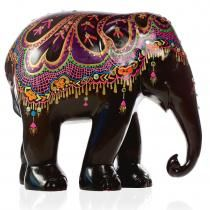 The Elephant Parade: the world's largest open air art exhibition of decorated elephant statues that seeks to attract public awareness and support for Asian elephant conservation