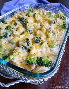 Grandma's Chicken Broccoli Casserole
