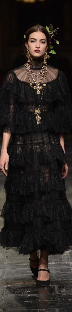 Dolce & Gabbana Alta Moda 2016                                                                                                                                                     More