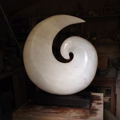 Marble Spiral created in Pietrasanta Easter 2015