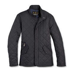 Barbour Flyweight Chelsea Quilted Jacket- Really great lightweight jacket.  Lining the pockets up with the quilting is a great touch.
