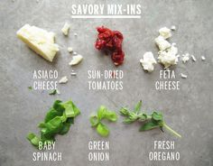 Savory Scone Mix-Ins