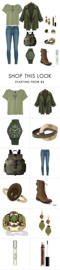 """Untitled #20"" by missmissymermaid on Polyvore featuring Chicnova Fashion, Nine West, Kenneth Cole Reaction, Frame Denim, Dorothy Perkins, Refresh, Palm Beach Jewelry, Chico's, New Look and NYX"
