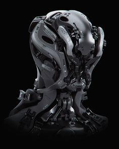 Robot, Carlos Alberto Martínez on ArtStation at https://www.artstation.com/artwork/1knXZ