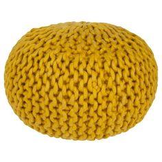 Wool Sphere Pouf - Surya : Target