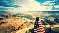Las Vegas, Los Angeles, San Francisco & New York American Flag Photos, Secret Places, Backpacking, Travel Photos, Grand Canyon, Travel Inspiration, North America, San Francisco, Scenery