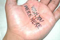 vuelvevuelvevuelve:Untitledtattoo on hand2013Alejandro Moralba