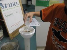 This is an interactive activity here students can help indentify different soil types using their senses.
