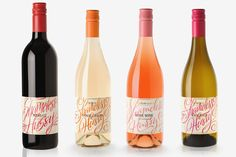 Shameless Hussy Wines on Packaging Design Served