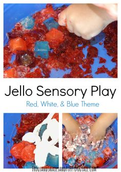 Jello Sensory Play for kids on FSPDT