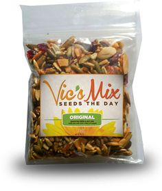 healthy, delicious trail mix! www.vics-mix.com