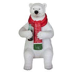 Coca-Cola Polar Bear Sitting
