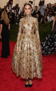 Courtney Eaton in Dolce & Gabbana // Met Gala 2015 China Through The Looking Glass