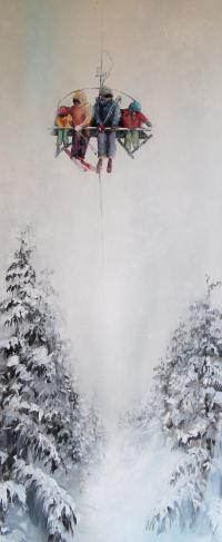 Midnight gallery, Chamonix @Lauren Nymann @Brianna Nymann