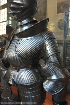 Maximilian armor, 15th C. Germany, Les Invalides, Paris, France.