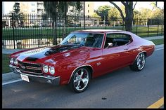 1970 Chevrolet Chevelle Pro Touring 468/550 HP, Automatic at Mecum Auctions