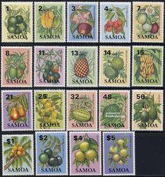 Definitives, fruits 19v, 1983