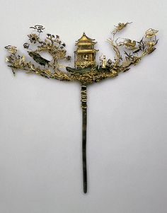 The State Hermitage Museum: chinese 17th c hairpin
