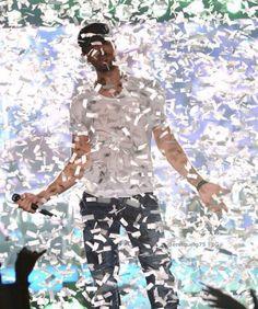 Confetti!! Enrique Iglesias.