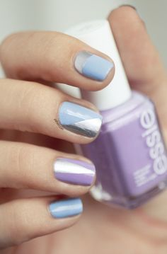 Lovely Essie mani #nails